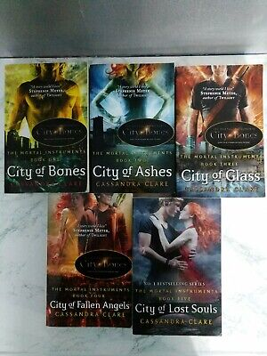 The Mortal Instruments Book Set By Cassandra Clare (books 1-5) • 10£