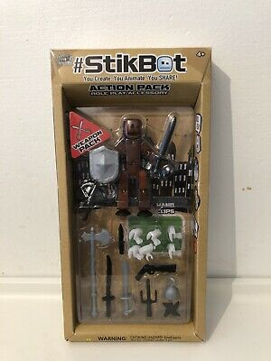 StikBot Action Pack Weapon Accessories • 8.50£
