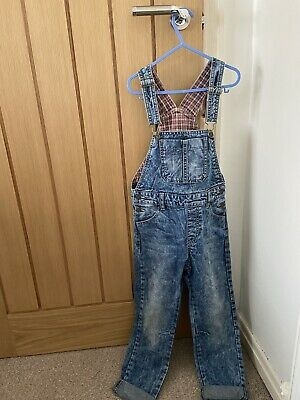Marks And Spencer's Age 6-7 Denim Dungarees • 0.99£