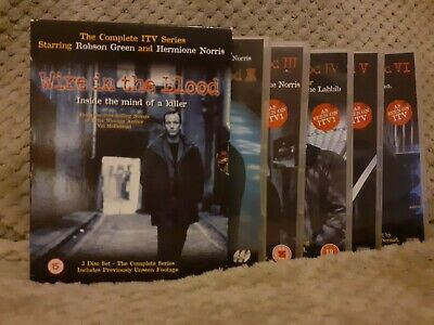 Wire In The Blood DVD - Full Series 1 To 6 • 5£