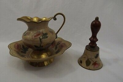 Collectable Brass Jug Bowl • 2.50£