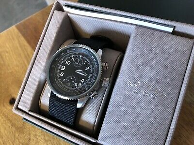 Rotary - Black 'Pilot' Chronograph Sports Watch - GS00284/04 • 19.37£