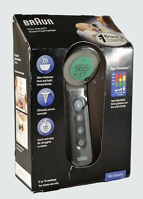 $ CDN60.70 • Buy Braun 3-in-1 No Touch Thermometer Model BNT400 Brand New, Never Used
