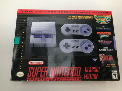 $ CDN150 • Buy Super Nintendo Entertainment System SNES Classic Edition
