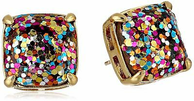 $ CDN34.44 • Buy Kate Spade New York Multi Glitter Square Stud Earrings New