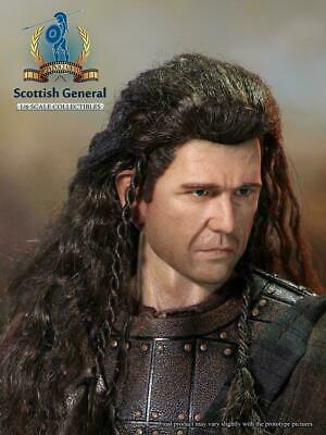 £18 • Buy Pangaea 1/6 Scottish General William Wallace Head Sculpt For 12  Male Figure Toy