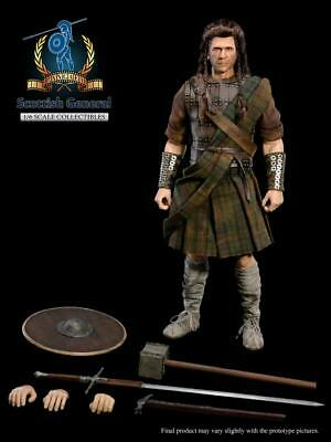 £178.33 • Buy Pangaea Toy 1:6 PG05 Scottish General William Wallace Figure Collection