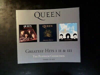 Cd Triple Album - Queen - The Platinum Collection - Greatest Hits 1 - 2 - 3 • 1.20£