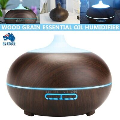AU19.99 • Buy Ultrasonic Aroma Aromatherapy Diffuser LED Essential Oil Air Humidifier Purifier