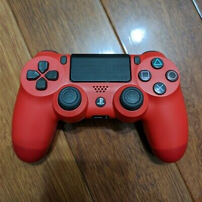 AU59.95 • Buy Genuine Sony PS4 PlayStation 4 Magma Red Wireless Controller V2 CUH-ZCT2E