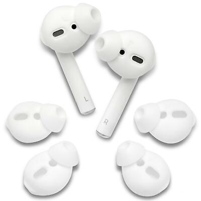 $ CDN8.75 • Buy Set Of Silicone EarBuds Ear Tips For Apple AirPods Wireless Earphones