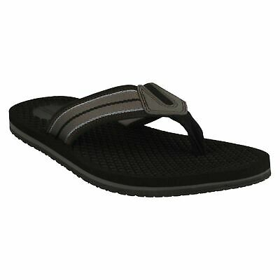 Mens Clarks Levick Post Slip On Flip Flop Casual Summer Toe Post Sandals Size • 34.99£