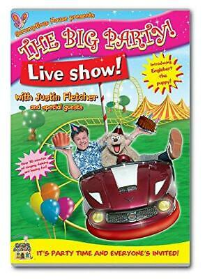 Justin Fletcher - The Big Party Live Show [DVD], Good DVD, , • 3.33£