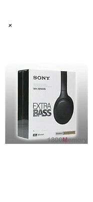 GENUINE Sony WH-XB900N Wireless Over-Ear Extra Bass Headphones Noise Cancelling • 100£