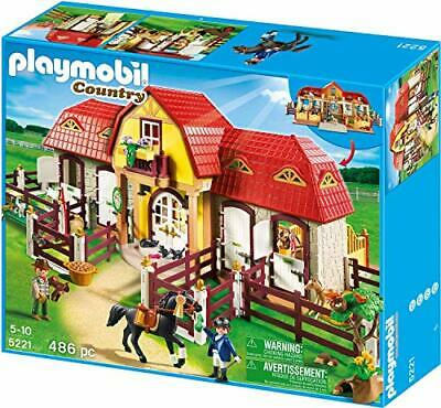 PLAYMOBIL Country Horse Farm With Paddock Large Toy For Children Christmas Gift • 130.99£