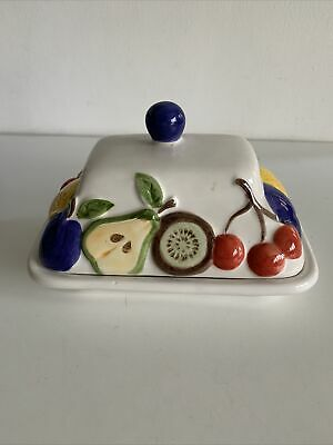 Rayware Country Kitchen Butter Lidded Butter Dish • 3£