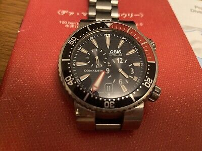 Oris Der Meistertaucher Regulator Automatic Divers 1000m Box And Papers 2007 • 1,195£