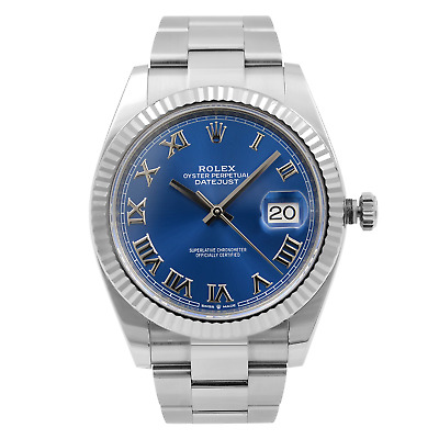 $ CDN12627.74 • Buy Rolex Datejust 41 Steel Gold White Sticks Dial Automatic Mens Watch 126334