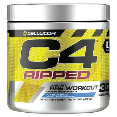 AU69 • Buy CELLUCOR C4 RIPPED PRE-WORKOUT FAT BURNER 30 SERVES 180g 2 Or 4 Pack
