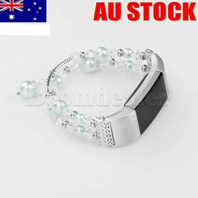 AU5.93 • Buy For Fitbit Charge 2 Replacement Jewelry Crystal Wrist Strap Band Bracelet  #AU