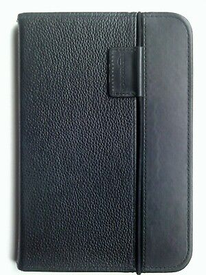 Amazon Kindle Keyboard Black Leather Lighted Cover Case • 15.99£