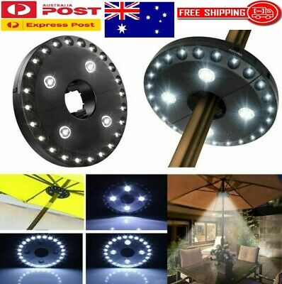 AU22.85 • Buy Patio Umbrella Light With 3 Brightness Mode, 28 LED Lights Outdoor Camping Use
