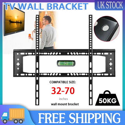 £7.99 • Buy TV Wall Bracket Mount Tit For 32-70 Inches Flat Curved Screen Sony Samsung