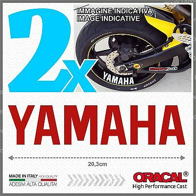 AU17.39 • Buy 2pcs Stickers Red Compatible With Yamaha Fz6r FZR R6 R1