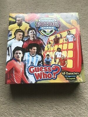 GUESS WHO? RARE WORLD FOOTBALL STARS GAME EXCELLENT CONDITION Hasbro Gaming • 5£