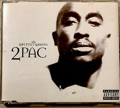 2pac-ghetto Gospel Cd Single, Condition Very Good • 3.60£