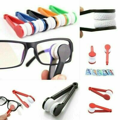 Lens Microfibre Cleaner Glasses Spectacles Eyeglasses Cleaning Cloth Tool • 1.25£