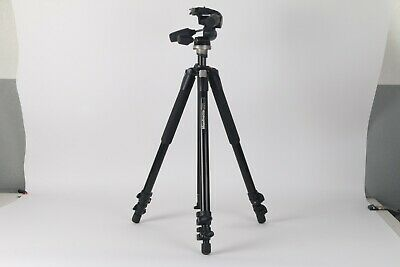 Manfrotto 055XWNB Tripod W/ Manfrotto 804RC2 Head And MBAG80N Tripod Bag • 145.77£