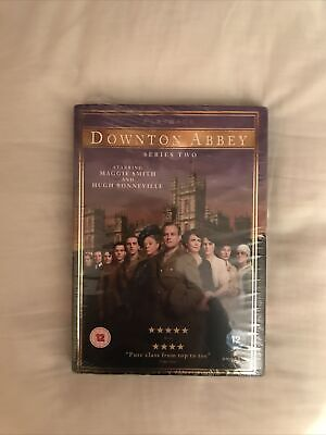 Downton Abbey - Series 2 - Complete (DVD, 2011, 4-Disc Set, Box Set)new & Sealed • 3£