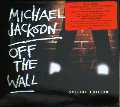 Michael Jackson - Off The Wall [Special Edition] CD NEW/SEALED • 5.58£