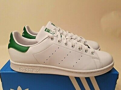 AU109.95 • Buy Adidas Originals Stan Smith 'Cloud White Green' Leather (US11.5) OG Superstar