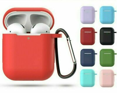 AU4.88 • Buy ❤  Apple Airpods Case Silicone Gel Skin Cover Holder For Shockproof Airpod 1 2