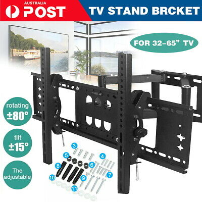 AU32.99 • Buy TV Wall Mount Bracket Full Motion Tilt Swivel Pivot 32 40 43 50 55 60 65 70 Inch
