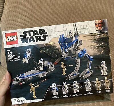 AU89.99 • Buy New LEGO 75280 Star Wars 501st Legion™ Clone Troopers Hard To Find
