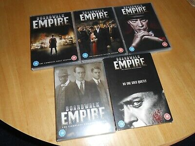 Boardwalk Empire, All The Series-full Five Seasons-- 1 To 5. • 25£