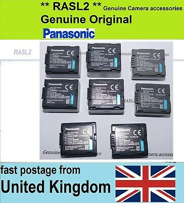 £19.95 • Buy 2X Genuine Panasonic Battery CGA-DU06 / CGA-DU07 / CGA-DU12 / CGA-DU14 / VSB0471