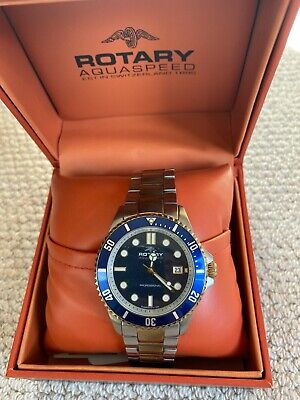Used Mens Rotary Aquaspeed Wrist Watch • 25.60£
