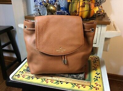 $ CDN153.11 • Buy Kate Spade New York Mulberry Street Breezy Genuine Leather Backpack Purse Bag