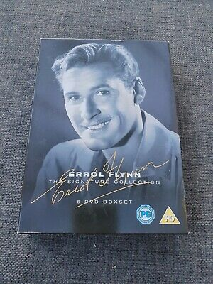 Errol Flynn Dvd Collection • 15£