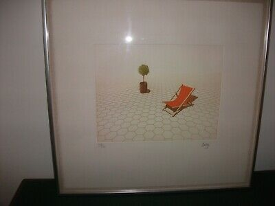 Limited Edition Print Signed Framed By Philip Solly  Endless Summer  • 35£