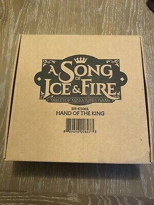 Hand Of The King Kickstarter Box - Asoiaf Cmon A Song Of Ice And Fire Miniatures • 56£