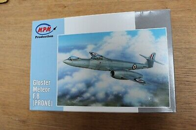 MPM Production 1/72 Scale Kit. Rare Gloster Meteor F8 Prone Kit No.72569 • 10.50£