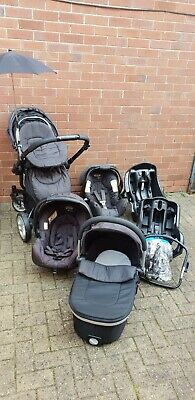 Graco Symbio 3 In 1 Travel System With 2 Car Seats • 60£