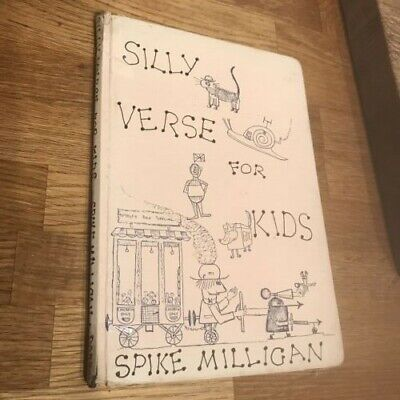 Silly Verse For Kids, Spike Milligan, Published By Dobson, 1961, Hardback • 15£