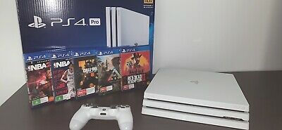 AU799 • Buy PS4 Pro 1TB + Samsung Curved Monitor + 5 Games
