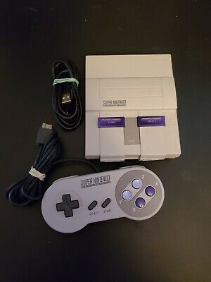 $ CDN112.32 • Buy Authentic Nintendo Super Nintendo Entertainment System (SNES) Mini Classic